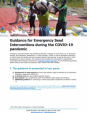 Guidance for Emergency Seed Interventions during the COVID-19 pandemic