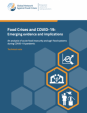 Food Crises and COVID‑19: Emerging evidence and implications - Technical note