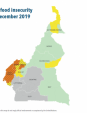 Map 12 Cameroon, CH Acute food insecurity situation, October–December 2019