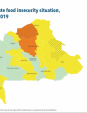 Map 10 Burkina Faso, CH Acute food insecurity situation, October–December 2019