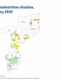 Map 41 Mozambique, Acute malnutrition situation, October 2019–February 2020
