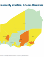 Map 43 Niger, CH Acute food insecurity situation, October–December 2019