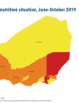 Map 44 Niger, IPC Acute malnutrition situation, June–October 2019