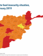 Map 5 - Afghanistan, IPC Acute food insecurity situation, November 2018–February 2019