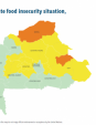 Map 9 - Burkina Faso, CH Acute food insecurity situation, June–August 2019