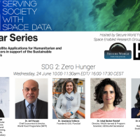 Webinar on Serving Society with Space Data: SDG 2 Zero Hunger